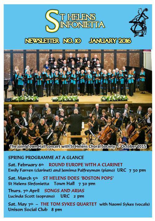 Sinfonietta newsletter 10 a5