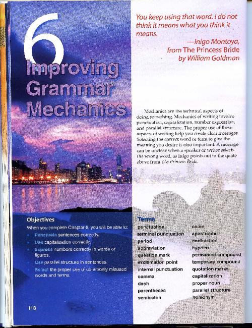 Chapter 6  Improving Grammar Mechanics