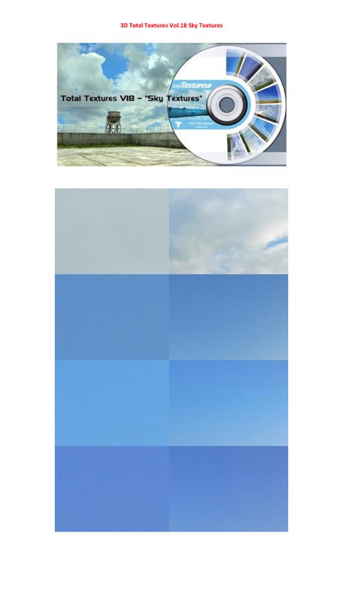 3D Total Textures vol.18
