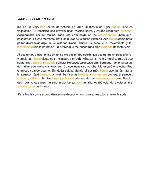 TRABAJOS LENGUA, Alejandra Corral2ºESO