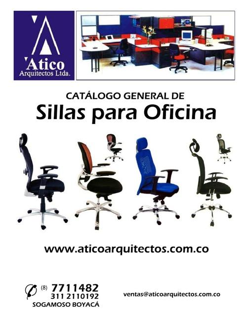 CATÁLOGO SILLAS EJECUTIVAS 2013