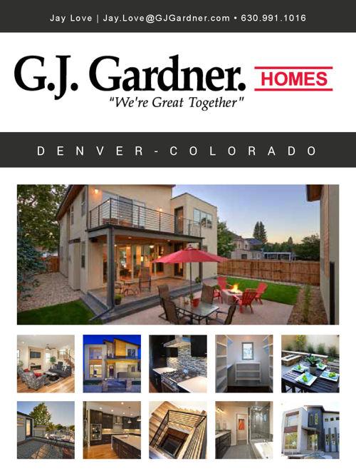 GJ Gardner Brochure