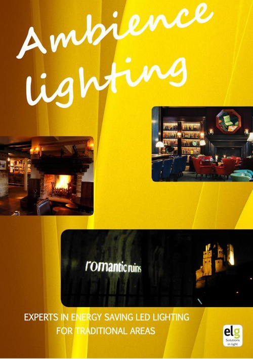Ambience Lighting, Modern lamps for the traditional areas