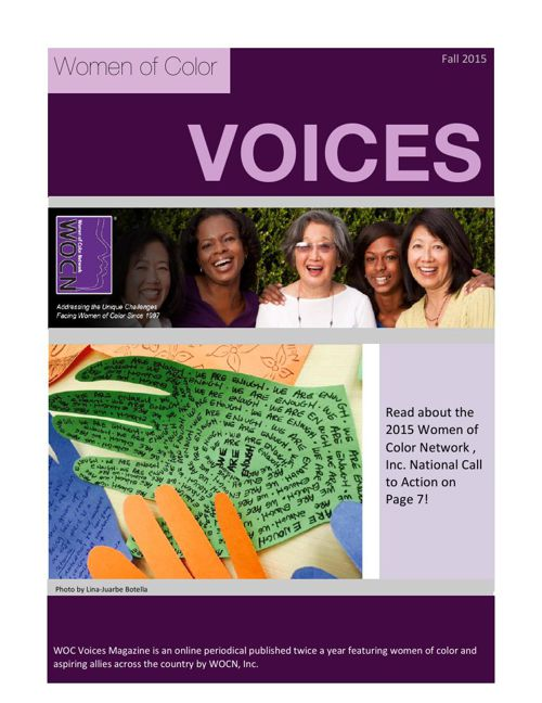 Voices Fall 2015
