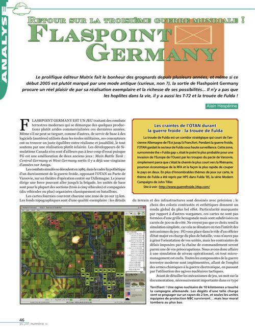 Flashpoint Germany - Test