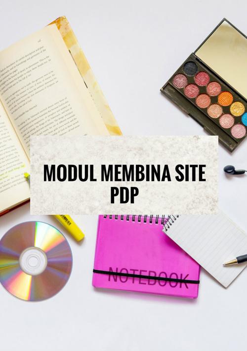 Modul membina site PdP