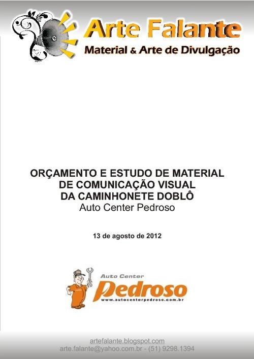 Adesivagem Doblô Pedroso