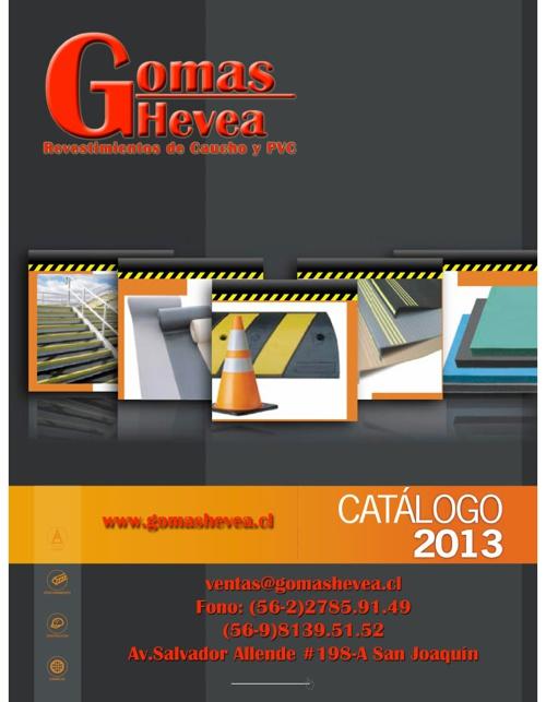 Catalogo 2013 Gomas Hevea