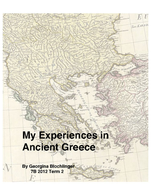 My Experiences in Ancient Greece