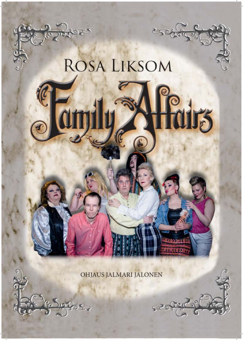 Teatteri Kultsa Family Affairs käsiohjelma