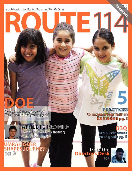 MYFC July 2012 Newsletter