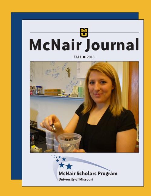 Fall 2013 MU McNair Journal