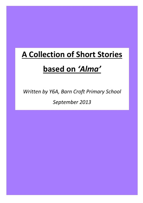 Y6A Short Stories based on Alma