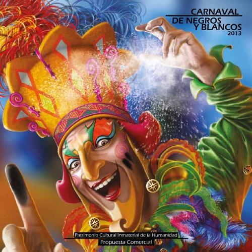 Brochure Carnaval de Negros y Blancos
