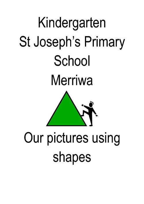 Merriwa Kinder Shapes Book