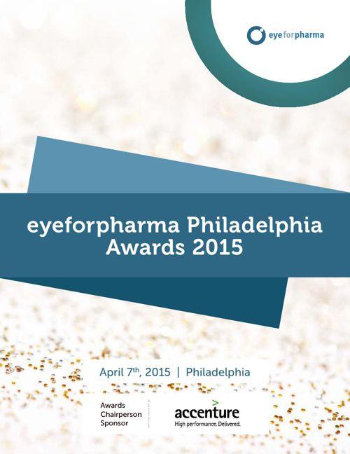 eyeforpharma Philadelphia Awards 2015 April 7th, 2015