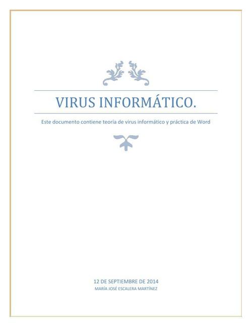 Qué es un VIRUS