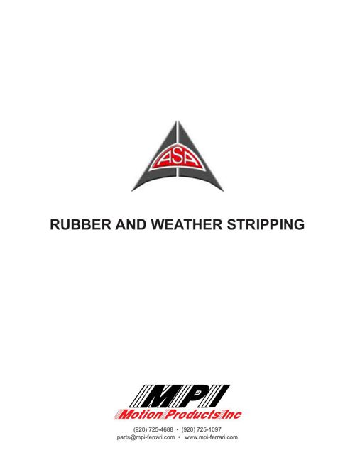 ASA Rubber Catalog