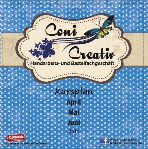 Coni Creativ| Kursplan Spring 2o14