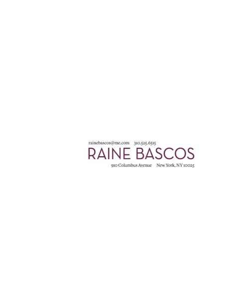 Raine Bascos, May 2012