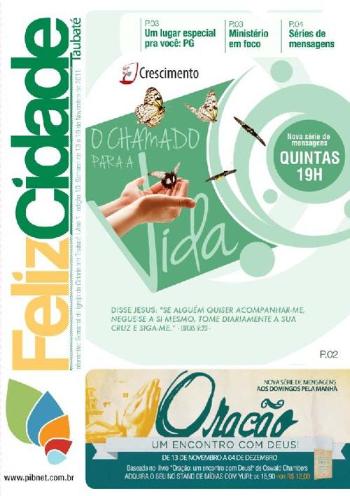 Informativo Semanal da Igreja da Cidade em Taubaté - Edição 10