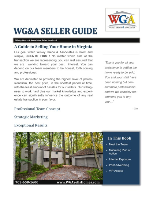 WG&A Seller Handbook