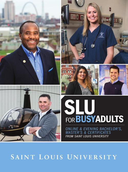 SLU for Busy Adults 2015-16 Viewbook