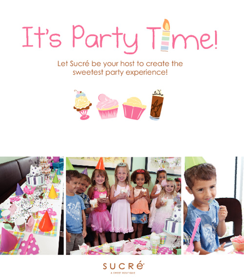 Kids Party Brochure