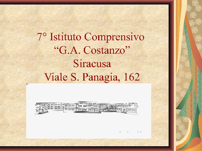 Offerta Formativa Istitutto Costanzo