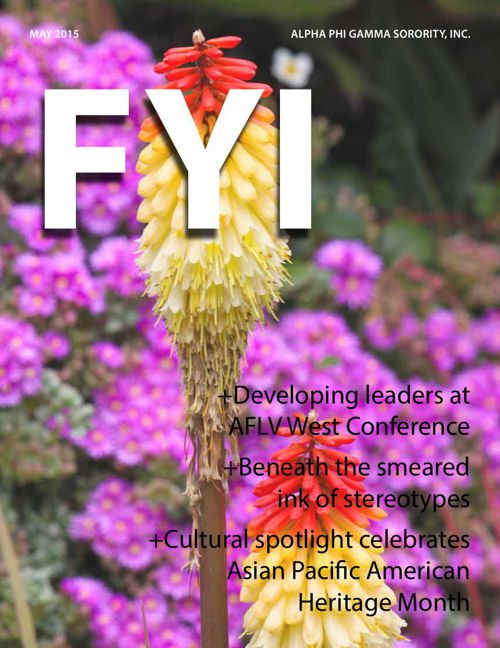 The F.Y.I. Newsletter - May 2015