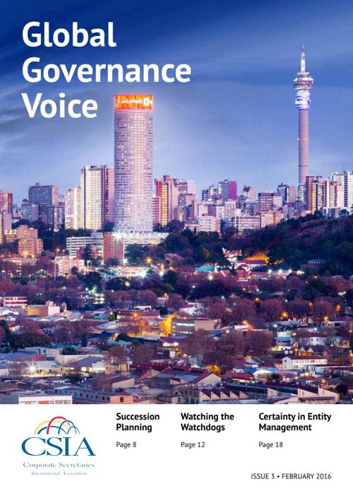 CSIA Global Governance Voice Issue 3