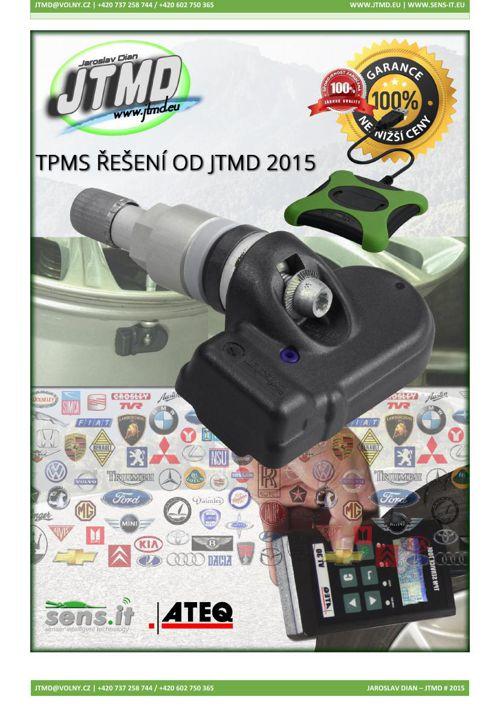 TPMS řešení od JTMD 2015