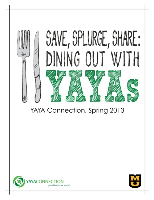 White Paper: Save, Splurge, Share: Dining Out With YAYAs