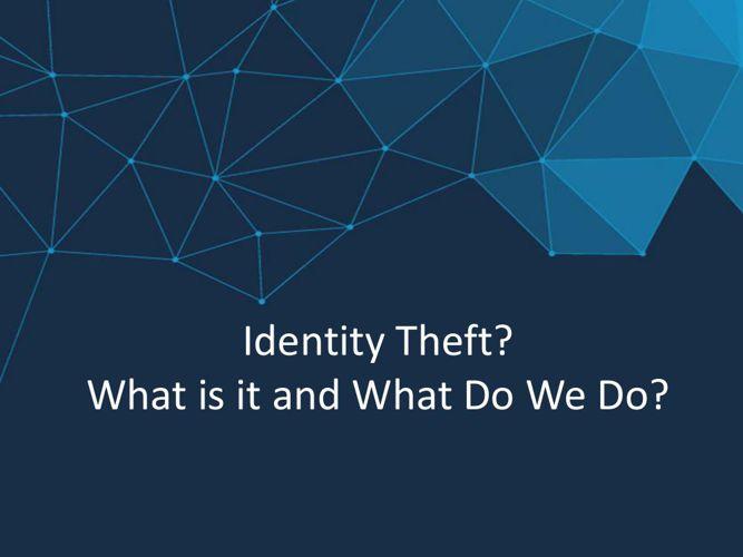 SA Identify Theft