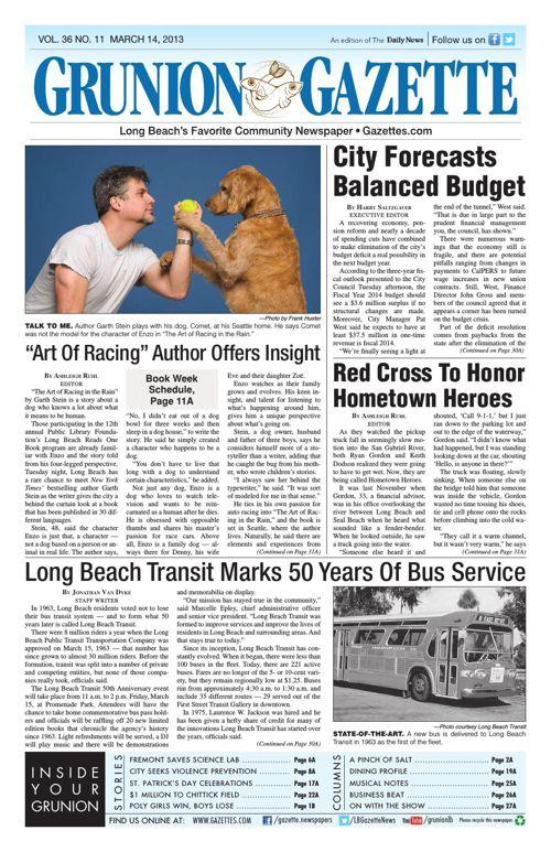 Grunion Gazette | March 14, 2013