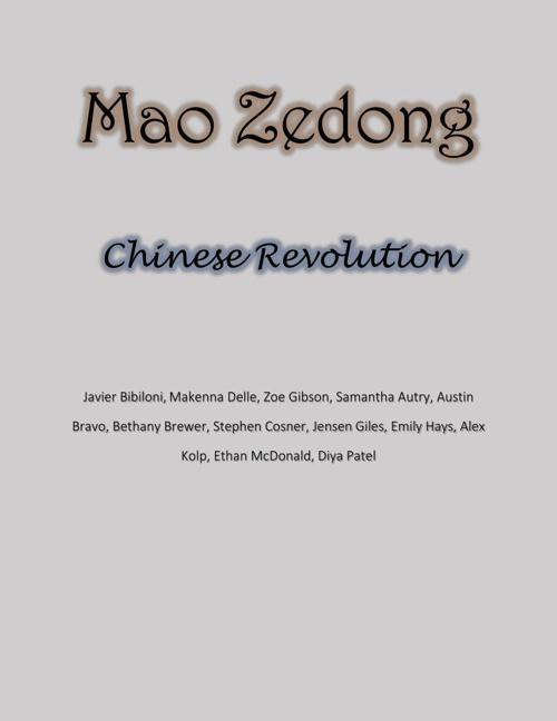 Mao Zedong - Chinese Revolution