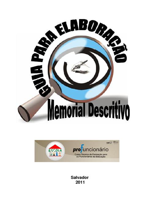 Guia para elaboração do memorial descritivo