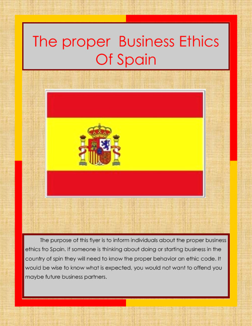 Business in Spain