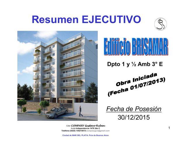 Edificio BRISAMAR I - Depto 3ero E