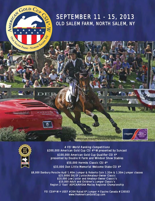 American Gold Cup Prize List