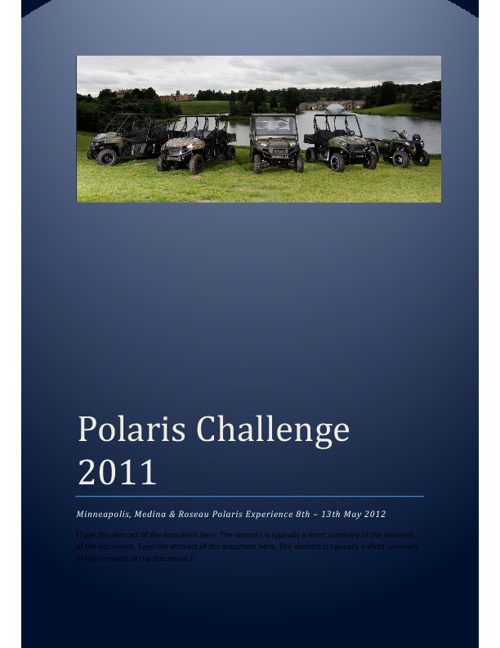 Polaris Challenge Event Guide