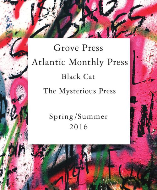 Grove Atlantic Spring 2016