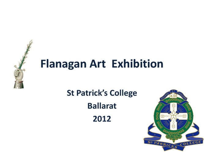 Flanagan Art Award Revised Version