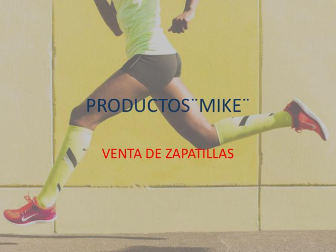 PRODUCTOS¨MIKE¨