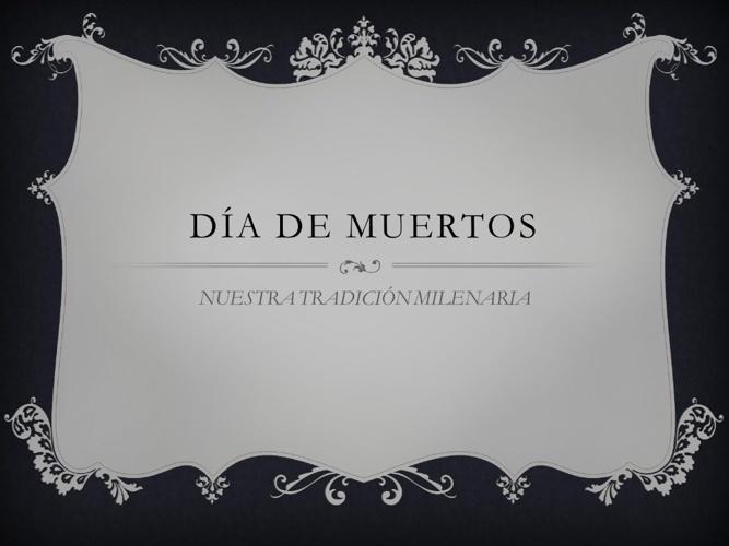 DIA DE MUERTOS