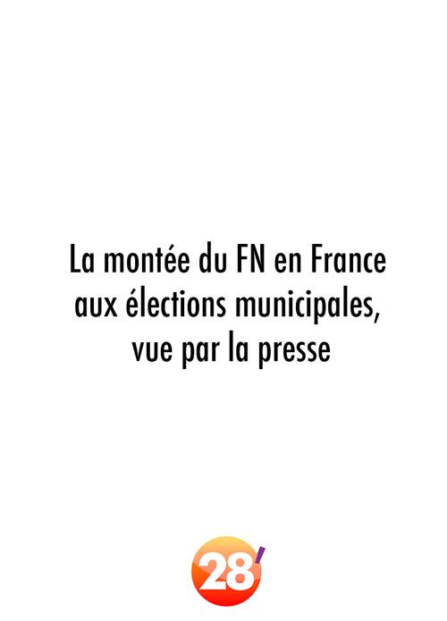 La montée du FN en France