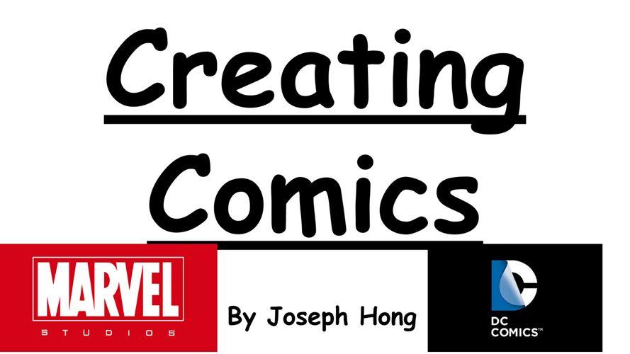 Creating Comics - Joseph