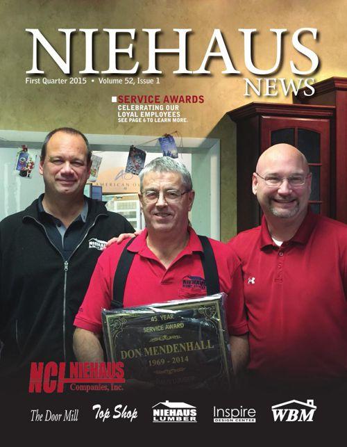 Niehaus News - First Quarter 2015