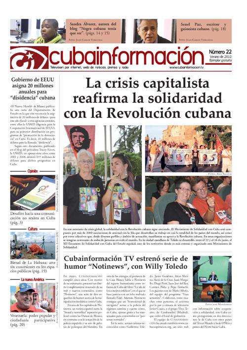 Boletín Cubainformación N°22
