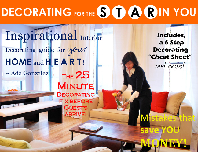 Decorating (Economically) for the Star in You!